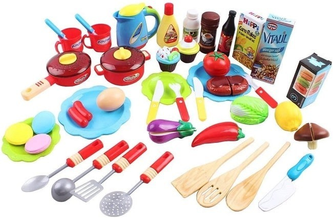 accesorios de cocina de juguete