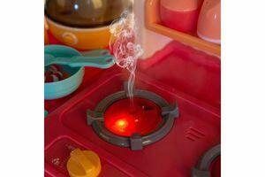 Cocina de juguete con vapor